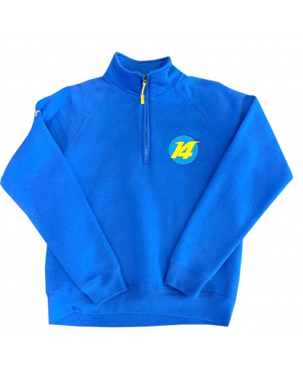 Blue NUMBER 14 Sweatshirt