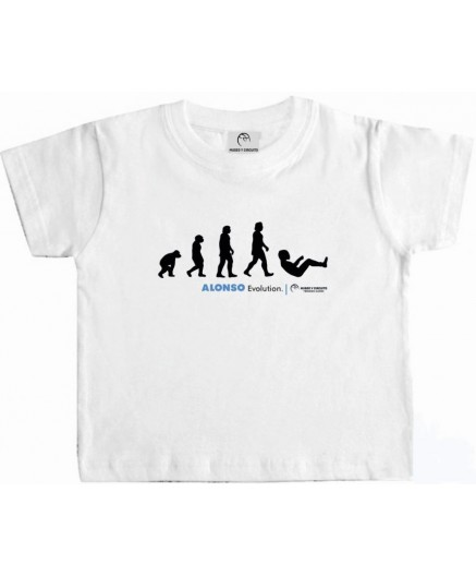 Camiseta Blanca Evolution FA (Niño)