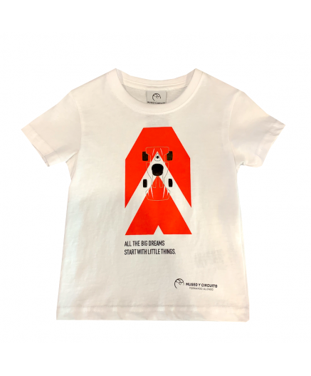 Red kart t-shirt (Kids)