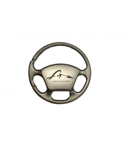 FA metalic steering wheel key-chain