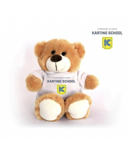 Karting School teddy bear