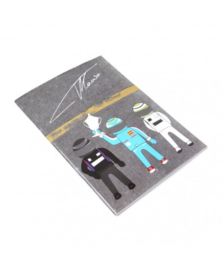 Signature and Trophy notepad