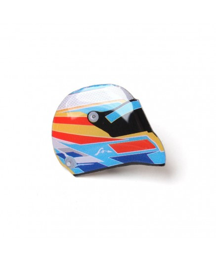 Pin Casco Fernando Alonso