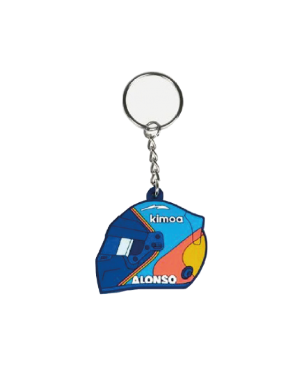 KEY CHAIN FERNANDO ALONSO HELMET BY KIMOA