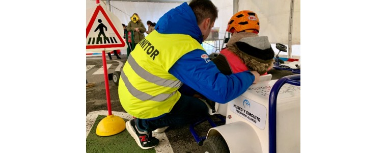 More than 170 have came to Museo y Circuito Fernando Alonso to learn road safety during February