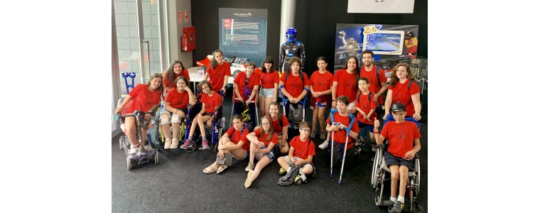 Spina bifida asociation visits our museum!